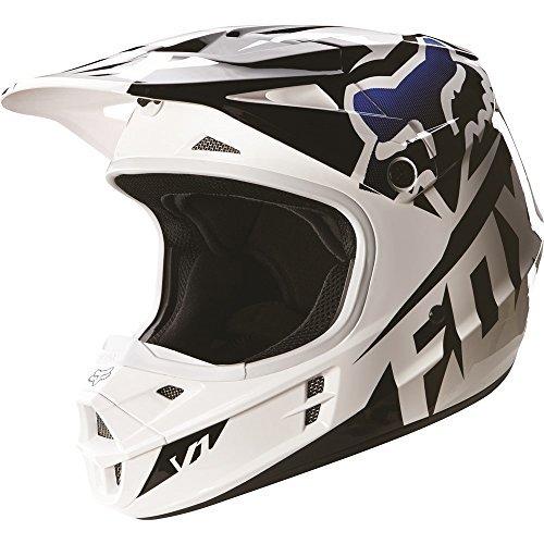 2016-Fox-Racing-Youth-V1-Race-Helmet-YS-Black-by-Fox-Racing