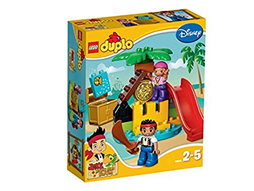 LEGO Duplo 10604 - Jake und die Nimmerland-Piraten, Schatzinsel (Jake Der Pirat-figuren)