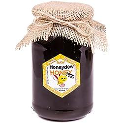 Miel de coníferas mielada con Polaco. Las mieles King! Fresco 2016. Sin pasteurizar, miel cruda. 1,25 kg. Miel polaco directamente del apicultor.