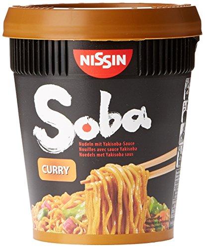 Nissin Nouilles Instantanées Soba Curry 88 g