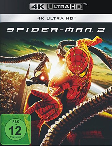 Spider-Man 2 (2004) - 4k Ultra HD Blu-ray