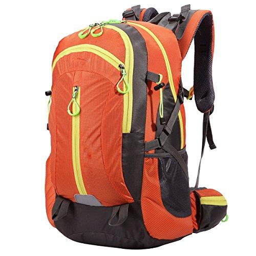 OGERT All'aperto Alpinismo Viaggio Zaino Di Guida,Green Orange