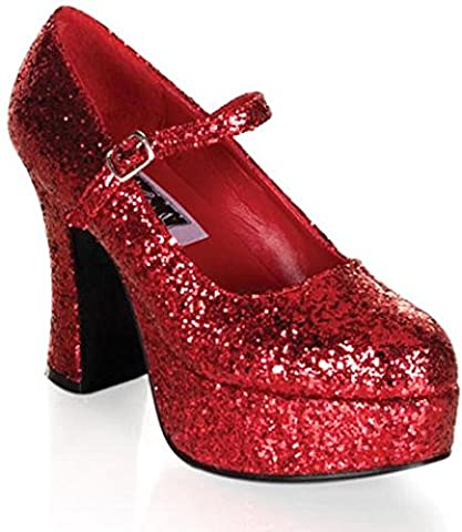 Pleaser dolly-508463–Chaussures pour Femme - - Rouge, 38 EU