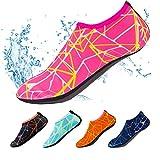 Calcetines de natación, de secado rápido, antideslizantes, para deportes al aire libre, te mantiene cálido, para uso en la playa, surf, natación, rosa (b)