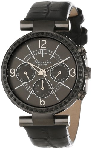 kenneth-cole-new-york-womens-kc2782-dress-sport-grey-dial-and-case-black-strap-multi-function-watch
