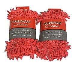 Farberware Microfiber Chenille Standard Sponge 2 Pack
