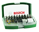 Bosch DIY 32tlg. Schrauberbit-Set mit Farbcodierung und Universalhalter
