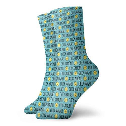 Chick Magnet - Easter Fabric C18BS Women Men Classics Socks Athletic Stockings 11.8 inch Long Sock -