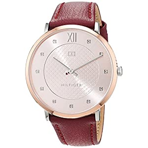 Tommy Hilfiger Womens Analogue Classic Quartz Watch with Leather Strap 1781810
