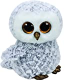 TY - Beanie Boos Owlette, búho, 15 cm, color gris (United Labels Ibérica 37201TY)