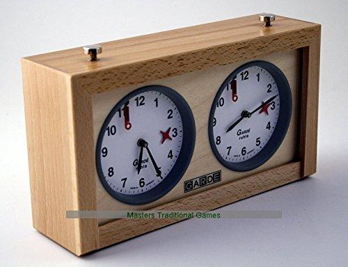 GARDE Reloj Analógico Mecánico Ajedrez