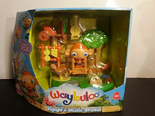 fisher price waybuloo yojojos music studio