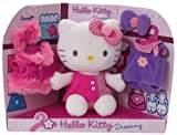 - Peluche Hello Kitty - Dressing - Taille 20cm