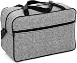 Ryanair Cabin Bag 40x20x25 Free Handbag Suitcase Luggage Tasche Handgepäck (Grey + Black Zipper)