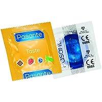 Pasante Aroma Kondome mit Geschmack (144er Packung, Pasante Blueberry Blast) Condoms aromatisiert Heidelbeere... preisvergleich bei billige-tabletten.eu