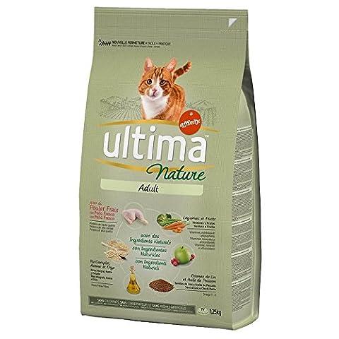 Ultima Nature - Croquettes au Poulet pour Chat - 1,25Kg