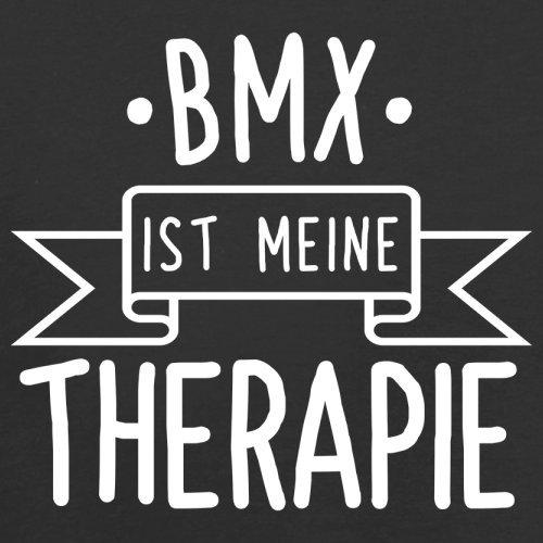 BMX ist meine Therapie - Herren T-Shirt - 13 Farben Schwarz