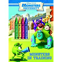 Monsters University: Monsters in Training [With Crayons]