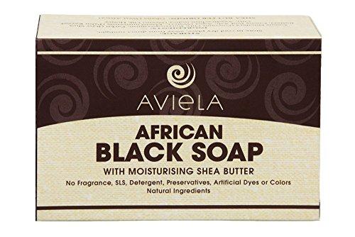Aviela Afrikanische Schwarze Seife