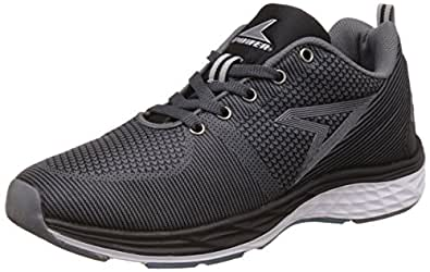 Power Men's Byron Black Running Shoes - 10 UK/India (44 EU) (8396015)