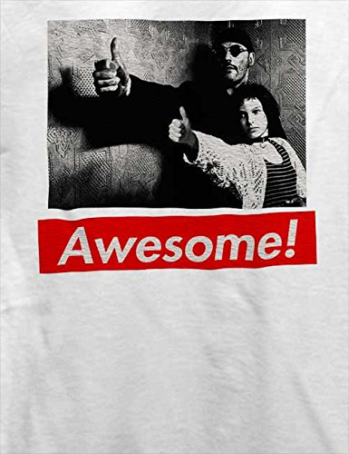 Awesome 46 T-Shirt Weiß