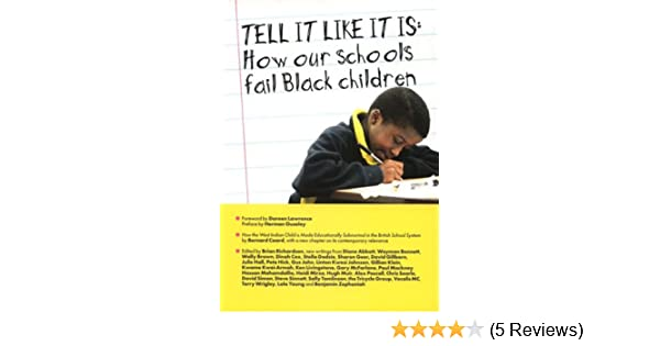 Tell It Like It Is - Old Ed: How Our Schools Fail Black