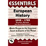 European History: 1648 to 1789 Essentials
