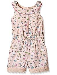 Yumi Pier Conversational Playsuit (Soft Pink) - Falda Niños