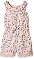 Yumi Girl's Pier Conversational Playsuit (Soft Pink) Skirt, Pink (Soft Pink), 13 Years (Manufacturer Size:13/14 Years)