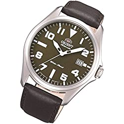Orient Classic Men's Watch with Automatic Date and Leather Strap FER2D009°F0