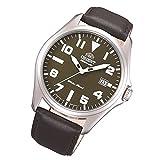 Orient orologio classico Automatico Data in pelle uomo bracciale orologio classico orologio fer2d009F0