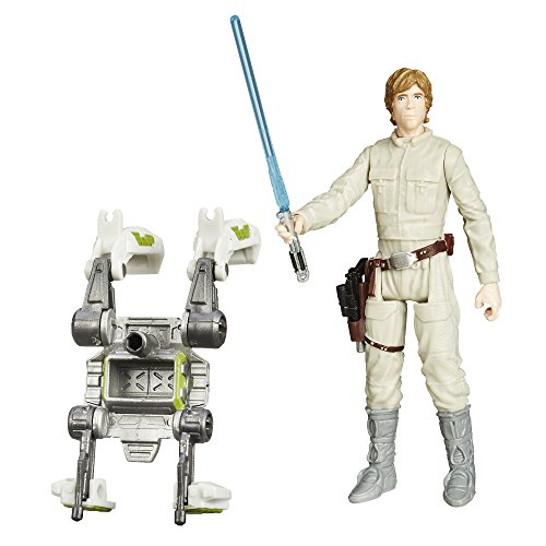 30509345373 Empire Strikes Back Figur Forest Mission Luke Skywalker Bespin, Mehrfarbig, 9,5 cm ()