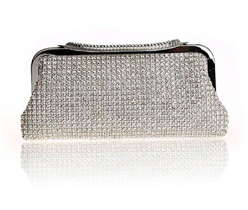 diamante/Pochette/ borsa da sera moda/Package banchetto/Borsa a mano donna-B A