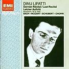 Dinu Lipatti - Dernier récital, Besançon 1950