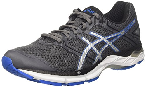 ASICS Men's Gel-Phoenix 8 Carbon/Directoire Blue/Silver Running Shoes - 8 UK/India (42.5 EU)(9 US)