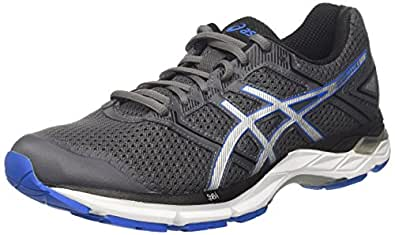 cdfc7f0e95ef ASICS Men s Gel-Phoenix 8 Running Shoes Black (Carbon Directoire Blue Silver