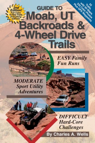 Guide to Moab, UT Backroads & 4-Wheel Drive Trails por Charles A. Wells