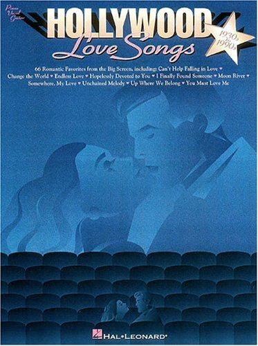 Hollywood Love Songs 1930s to 1990s: Piano Vocal Guitar