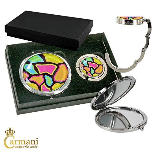 carmani-metallo-tasca-compatto-specchia-con-sacchetto-di-mano-del-gancio-hanger-mosaico-di-colore