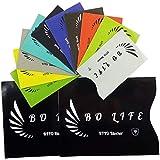 12 Stk BO-LIFE Kredit Kartenhüllen zum abschirmen Ihres Ausweis, Reisepass, Kreditkarten, Blockierung NFC RFID Daten