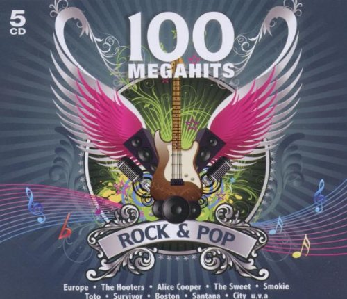 Preisvergleich Produktbild 100 Megahits Rock & Pop