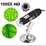 Best Microscopes numériques - Microscope 1000X 8 LED Électronique Numérique USB Professionnel Review