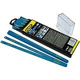 Stanley 1-15-559 Lame de scie à métaux Boîte 100 Lames HSS bimétal laser 12 Dents