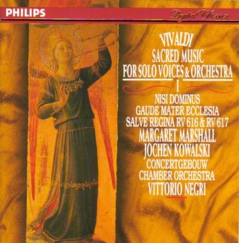 Vivaldi: Oeuvres de musique sacrée Vol.1