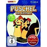 Puschel, das Eichhorn - 26 Folgen, Komplettbox