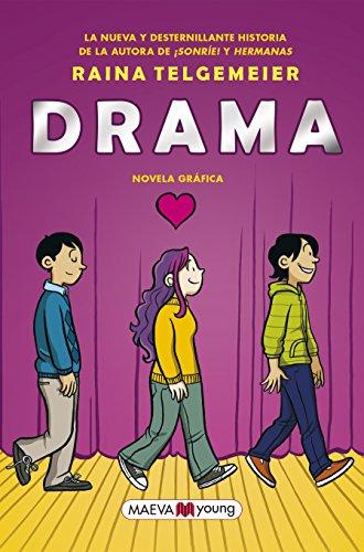 Drama: Novela gráfica (Maeva Young) por Raina Telgemeier