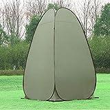 GQCDQ Tenda Pop UP, Tenda di Privacy Pieghevole e Portatile per Campeggio, WC, Doccia, Pesca, Cambio di Vestiti, facilità di Installazione e stoccaggio, capanna spaziosa con Extra Alto 120x120x190CM