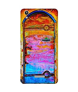 Welcome To Wonderland Back Cover Case for Lava Pixel V1