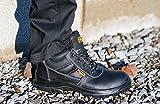 Black Hammer Männer Leder Sicherheitsstiefel S3 - 8