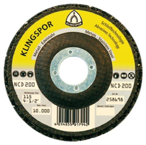 Klingspor 259044 Grobreinigungsscheibe NCD 200, 125 mm